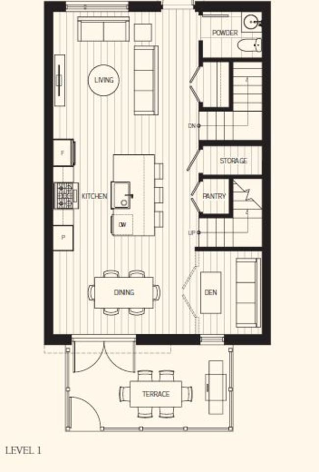 fp-level-1 at 104 - 505 East 2nd Street, Lower Lonsdale, North Vancouver