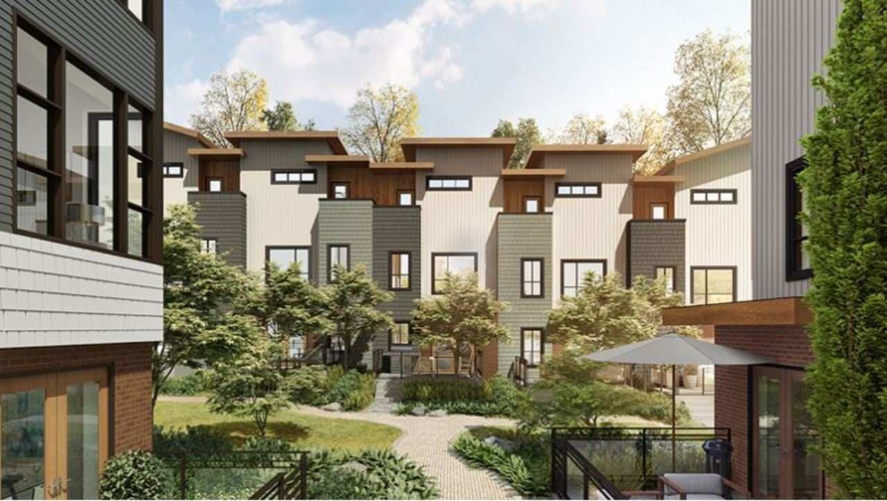 trails-inner-green-space-terraces at 104 - 505 East 2nd Street, Lower Lonsdale, North Vancouver