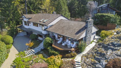 drone_pic-3 at 6860 Hycroft Road, Whytecliff, West Vancouver