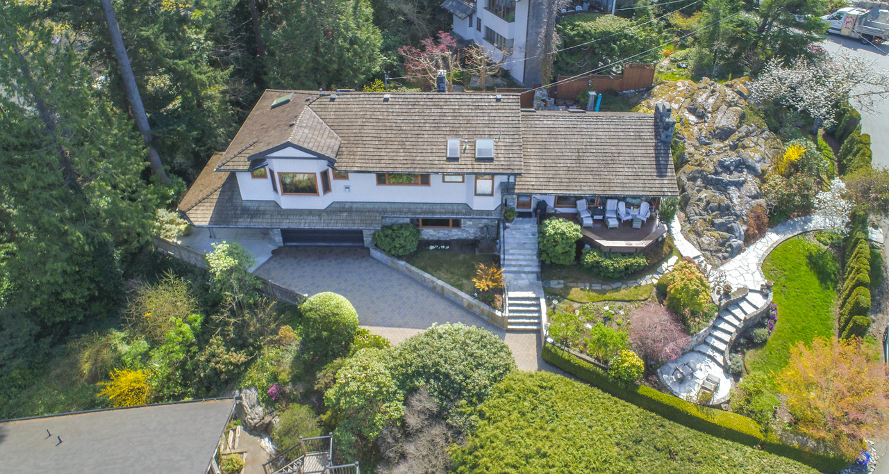 drone_pic-1 at 6860 Hycroft Road, Whytecliff, West Vancouver