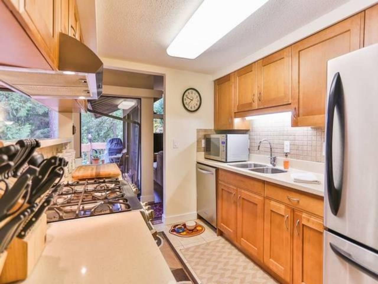 Kitchen at 2897 Capilano Road, Capilano NV, North Vancouver