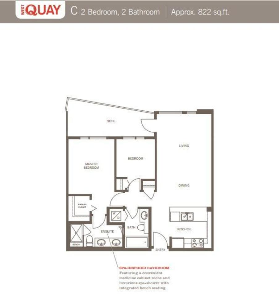 Floor-Plan at 512 - 255 W 1st Street, Lower Lonsdale, North Vancouver