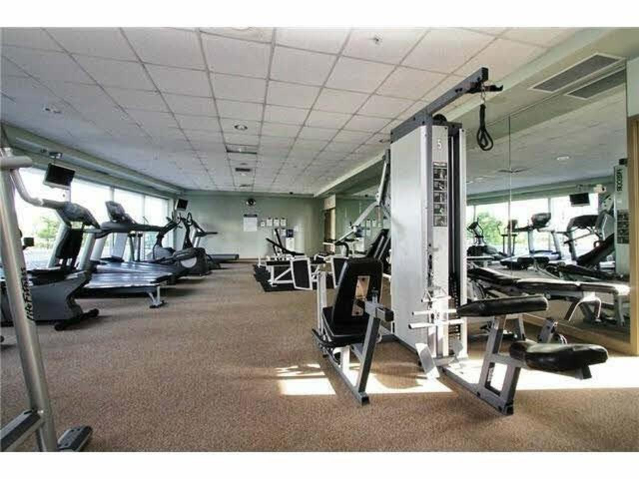 Gym at 1711 - 939 Expo Boulevard, Yaletown, Vancouver West