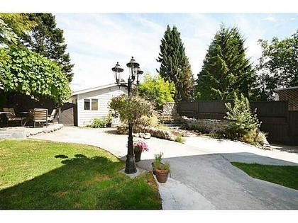 Yard at 2556 Chesterfield Avenue, Upper Lonsdale, North Vancouver