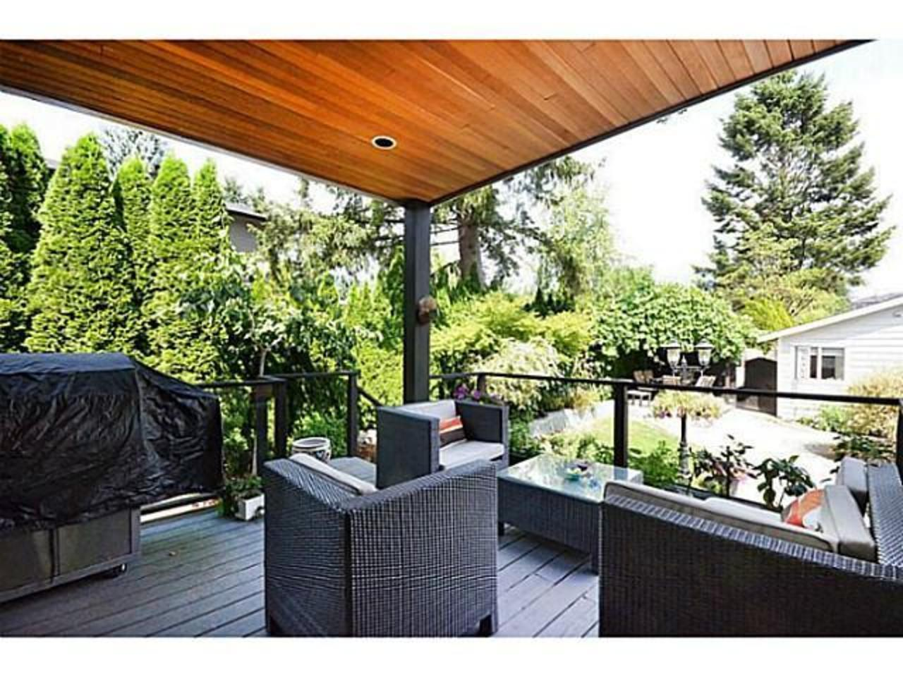 Deck at 2556 Chesterfield Avenue, Upper Lonsdale, North Vancouver