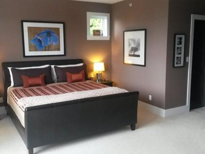 Master-Bedroom at 51 Salal Court, Furry Creek, West Vancouver