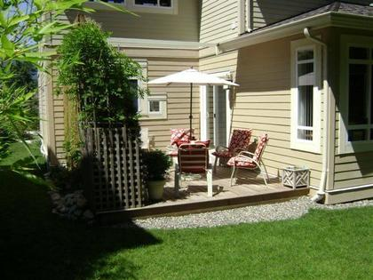 Patio at 51 Salal Court, Furry Creek, West Vancouver
