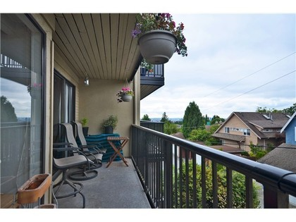 Balcony at 204 - 2545 Lonsdale Avenue, Upper Lonsdale, North Vancouver
