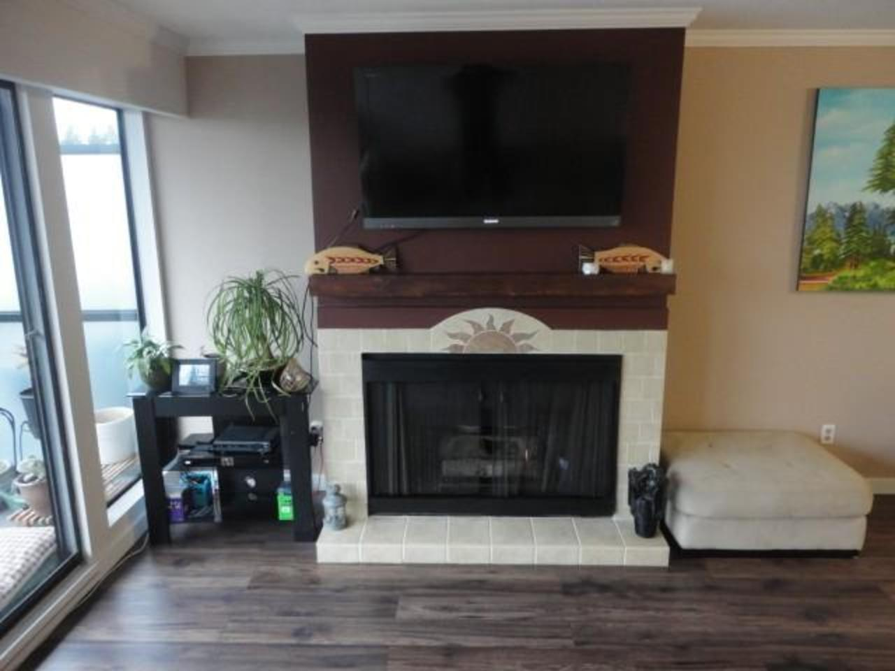 Fireplace at 204 - 2545 Lonsdale Avenue, Upper Lonsdale, North Vancouver