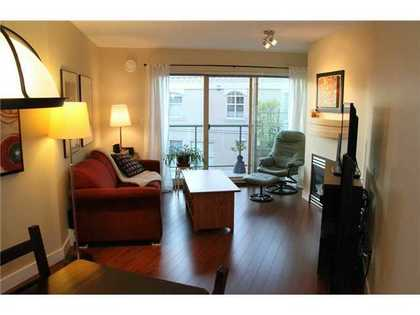 Living-Room at 228 - 332 Lonsdale Avenue, Lower Lonsdale, North Vancouver
