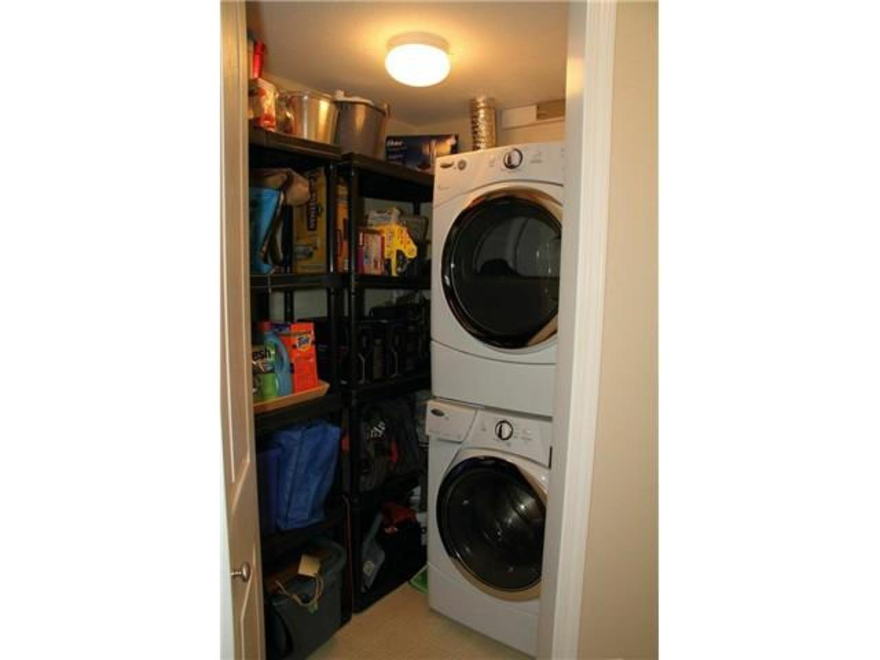 In-suite-Laundry at 228 - 332 Lonsdale Avenue, Lower Lonsdale, North Vancouver