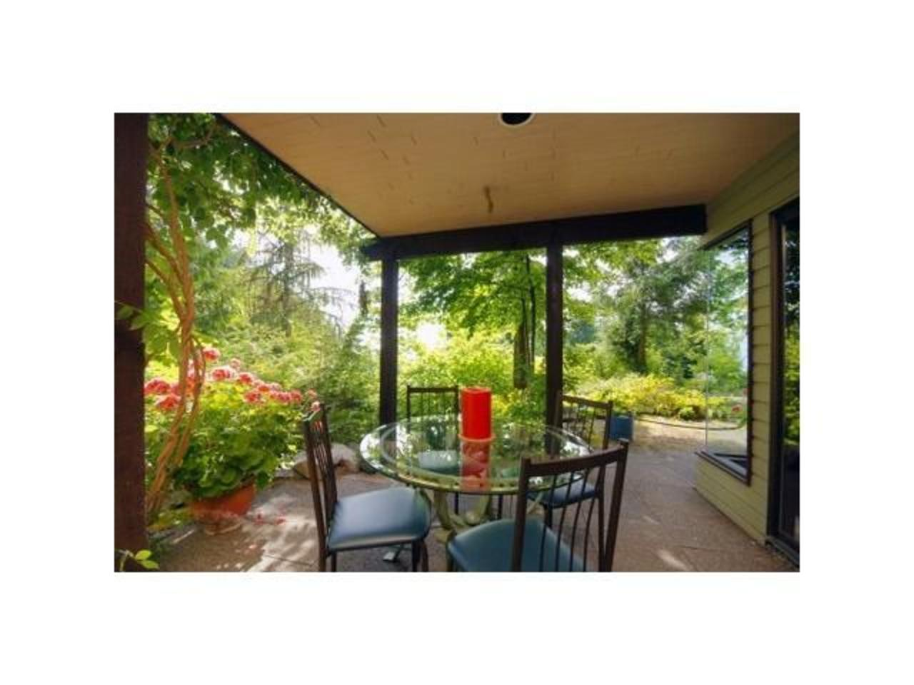 Terrace at 570 Bayview Road, Lions Bay, West Vancouver