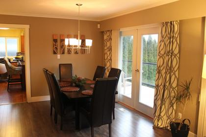 Dining-Room at 2830 Dollarton Highway, North Vancouver