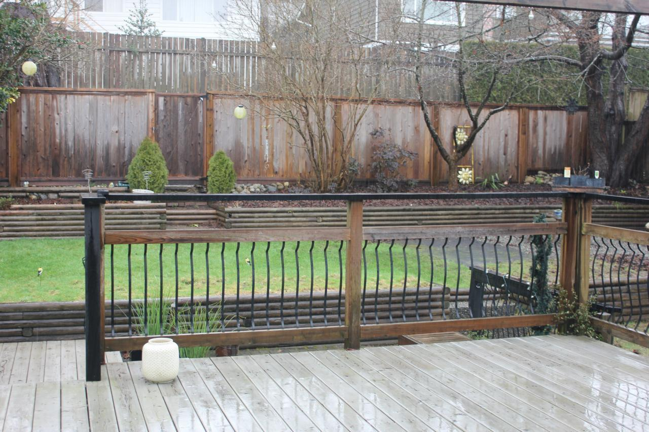 Deck at 2830 Dollarton Highway, North Vancouver
