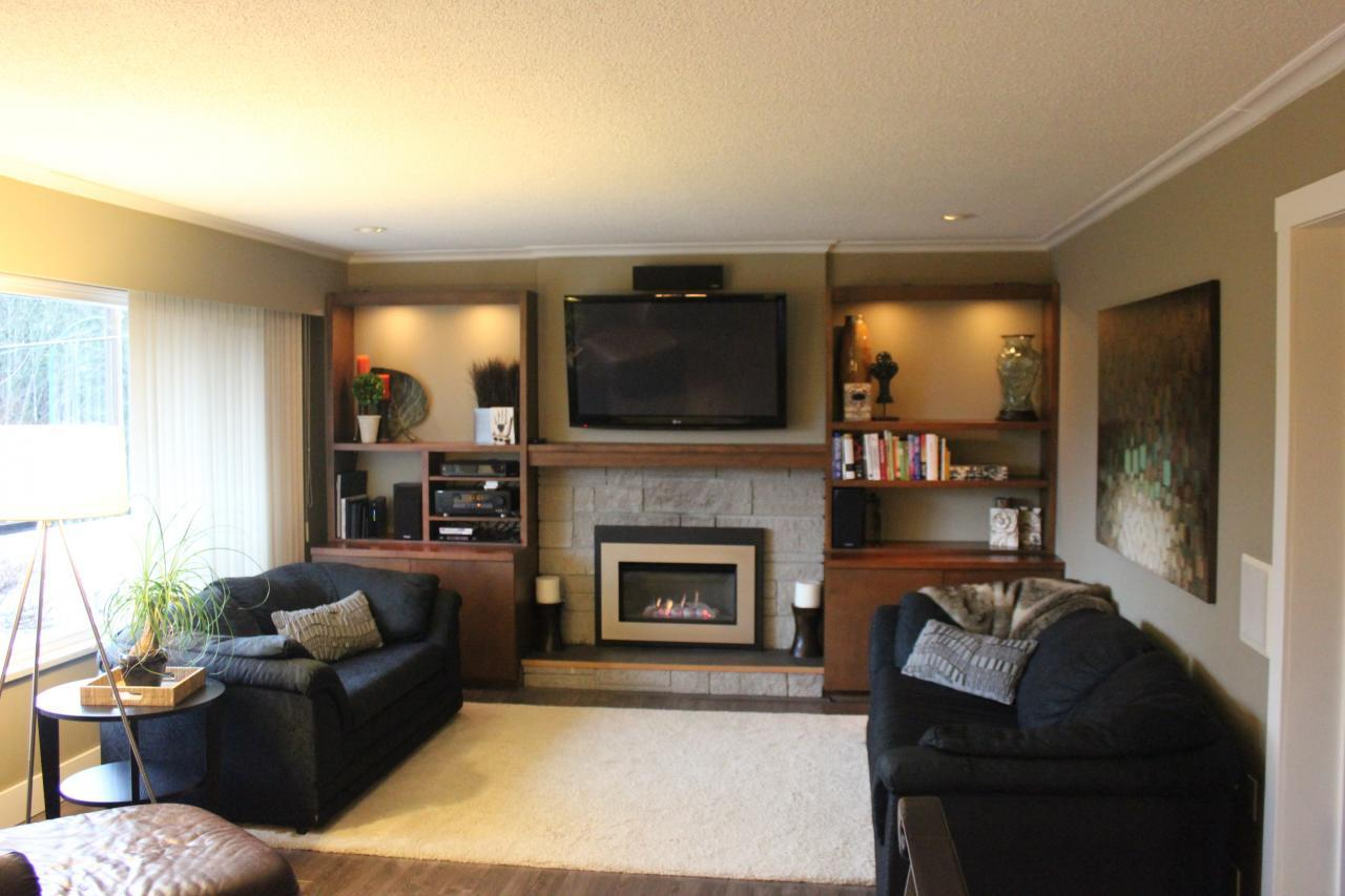 Living-Room at 2830 Dollarton Highway, North Vancouver