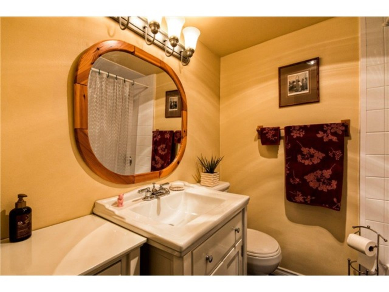 Bathroom at 52 - 912 Premier Street, Lynnmour, North Vancouver