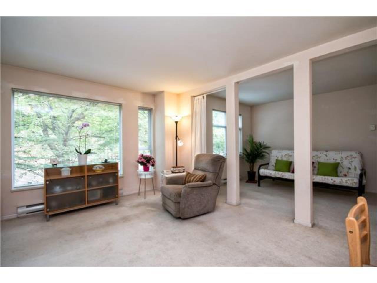 Family-Room at 203 - 1550 Fell Avenue, Hamilton, North Vancouver