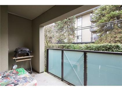 Balcony at 218 - 140 E 4th Street, Lower Lonsdale, North Vancouver