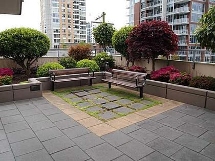 Patio at 704 - 121 W 16th Street, Central Lonsdale, North Vancouver
