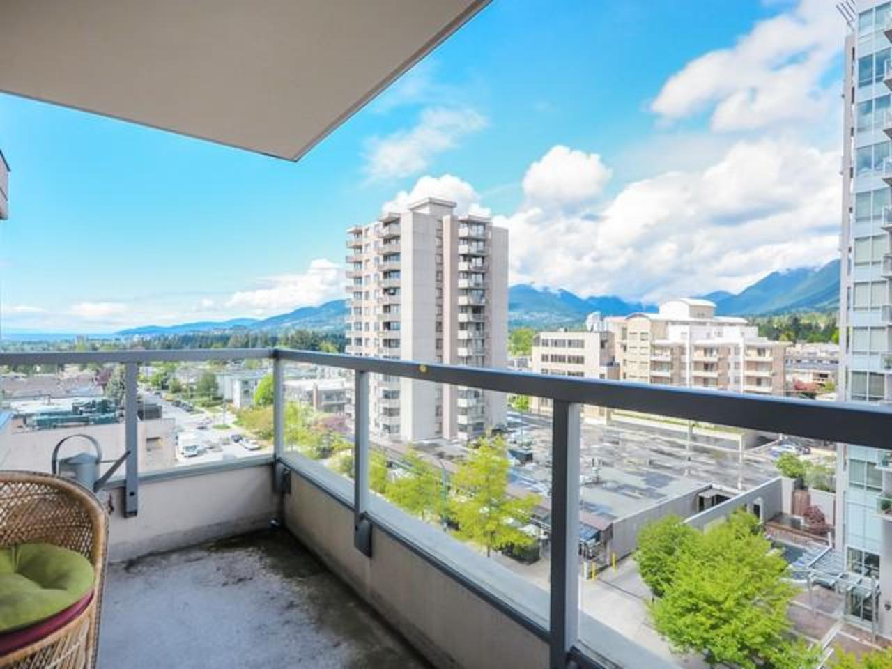 Balcony at 704 - 121 W 16th Street, Central Lonsdale, North Vancouver