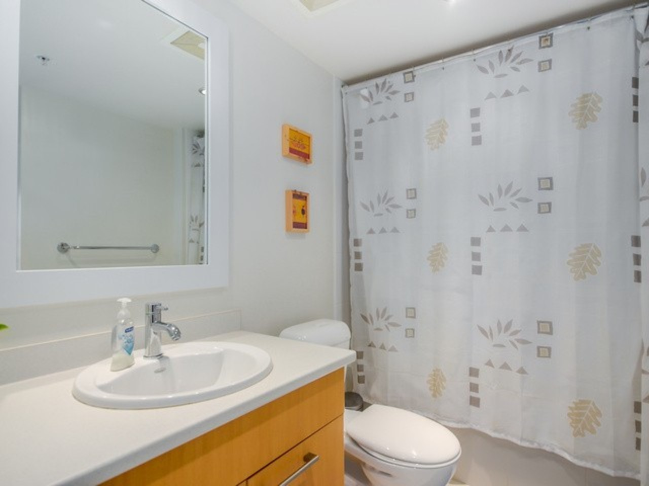 Bathroom at 704 - 121 W 16th Street, Central Lonsdale, North Vancouver