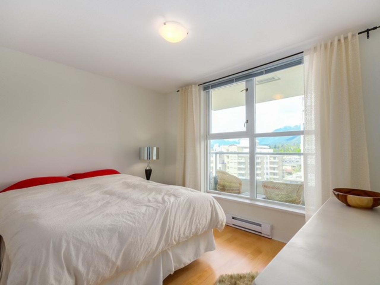 Bedroom at 704 - 121 W 16th Street, Central Lonsdale, North Vancouver