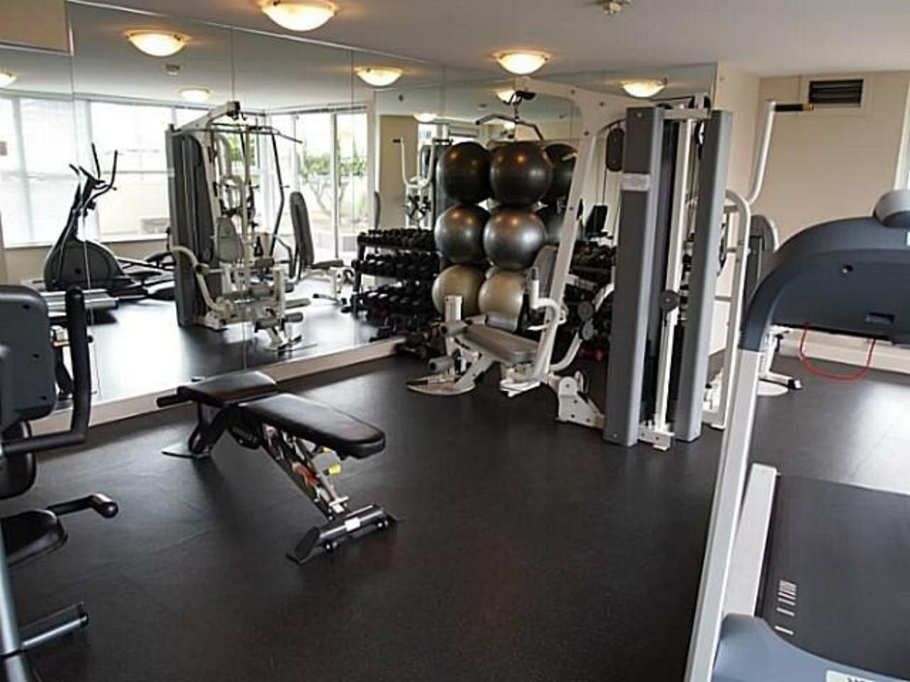 Gym at 704 - 121 W 16th Street, Central Lonsdale, North Vancouver