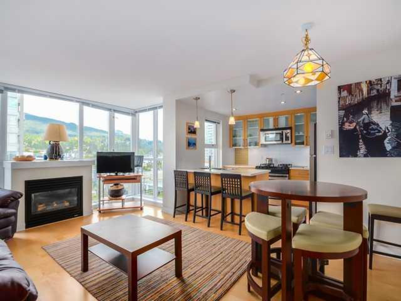 Living-Room at 704 - 121 W 16th Street, Central Lonsdale, North Vancouver