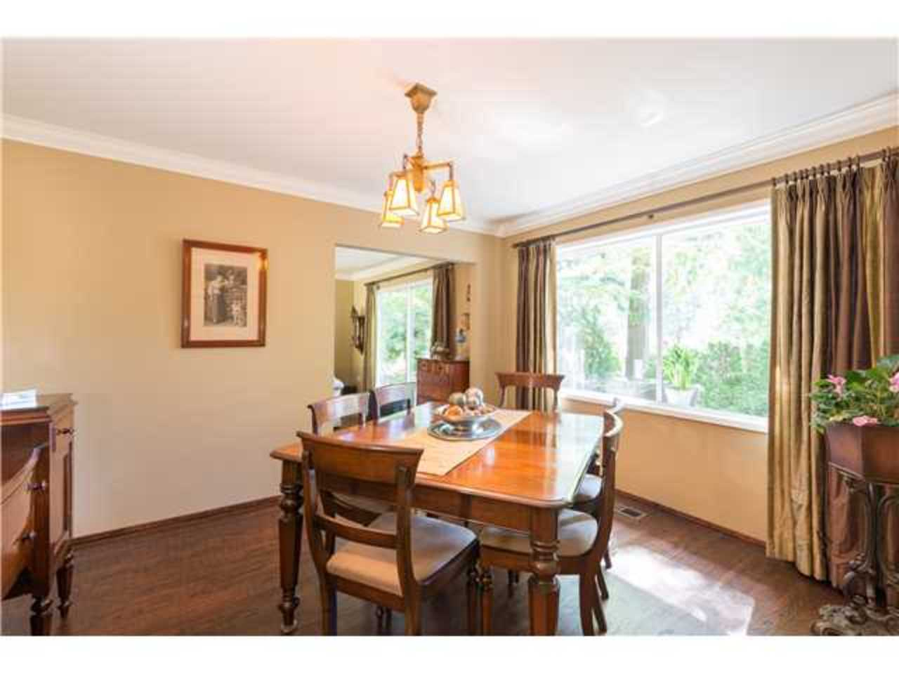 Dining-Room at 5654 Westport Road, Eagle Harbour, West Vancouver