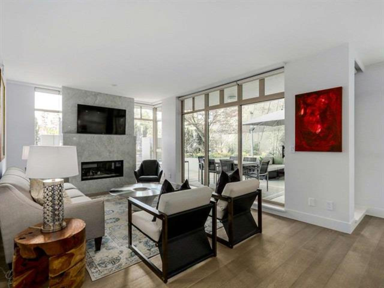 LivingRoom at 306 - 5700 Larch Street, Kerrisdale, Vancouver West