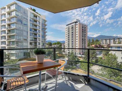 Balcony at 805 - 151 W 2nd Street, Lower Lonsdale, North Vancouver