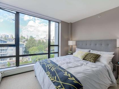 Bedroom-2 at 805 - 151 W 2nd Street, Lower Lonsdale, North Vancouver