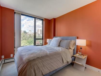 Bedroom-4 at 805 - 151 W 2nd Street, Lower Lonsdale, North Vancouver