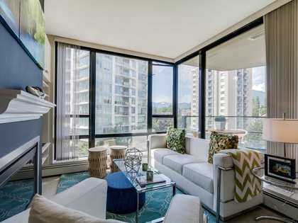 Living2 at 805 - 151 W 2nd Street, Lower Lonsdale, North Vancouver