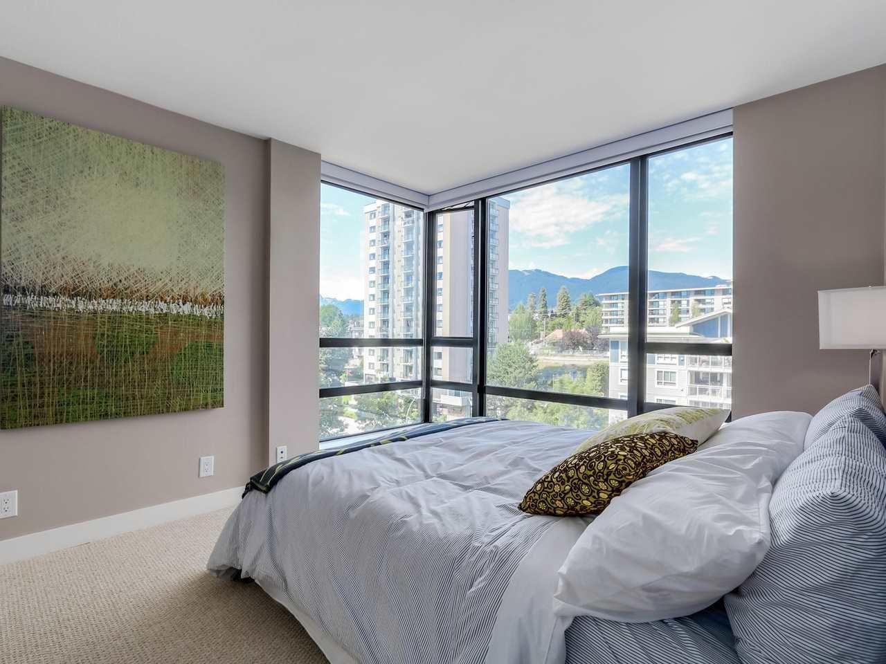 Bedroom-3 at 805 - 151 W 2nd Street, Lower Lonsdale, North Vancouver