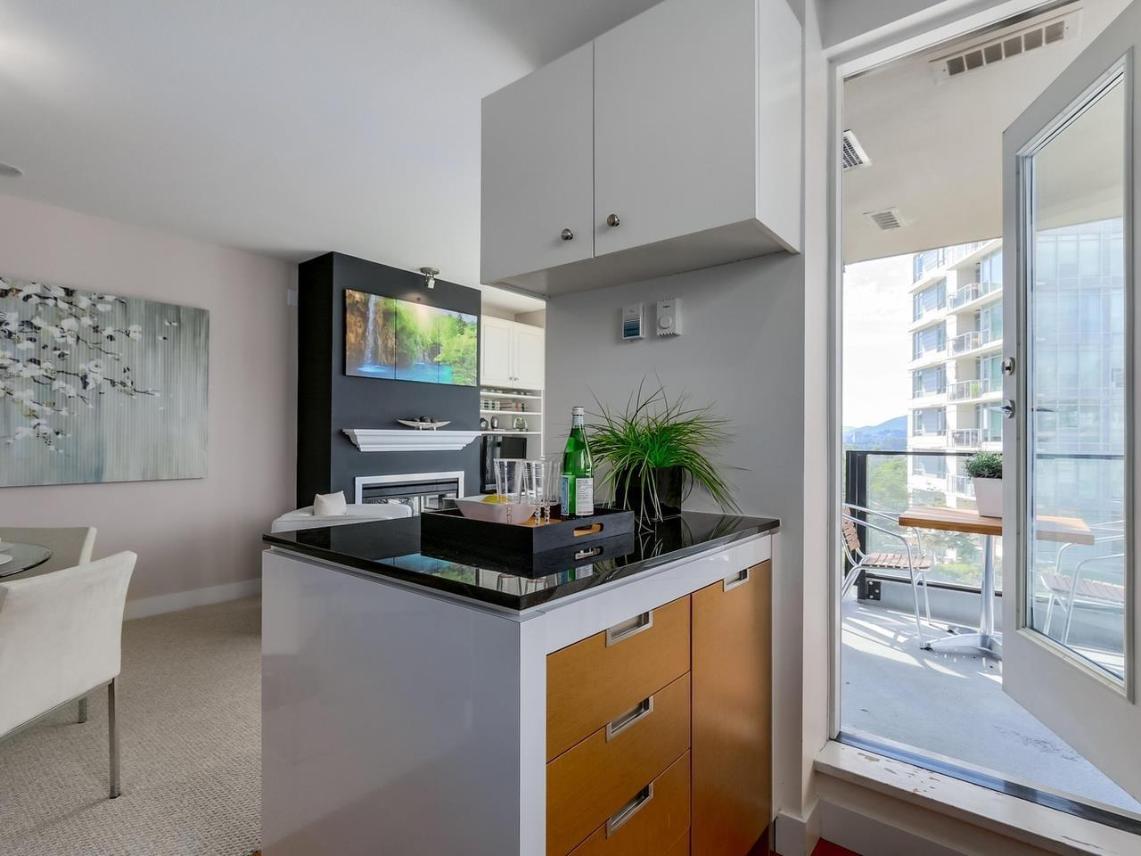 Kitchen2 at 805 - 151 W 2nd Street, Lower Lonsdale, North Vancouver