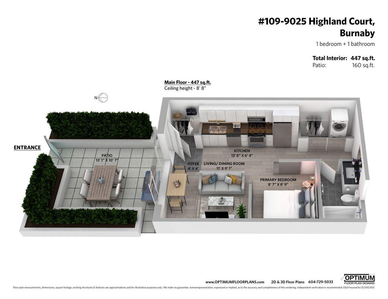 9025-highland-court-simon-fraser-univer-burnaby-north-15 at 109 - 9025 Highland Court, Simon Fraser Univer., Burnaby North