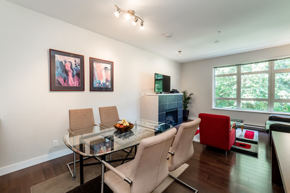 Dining Room at 302 - 3294 Mt. Seymour Parkway, Northlands, North Vancouver