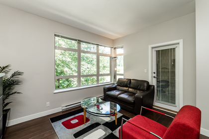 Living Room at 302 - 3294 Mt. Seymour Parkway, Northlands, North Vancouver