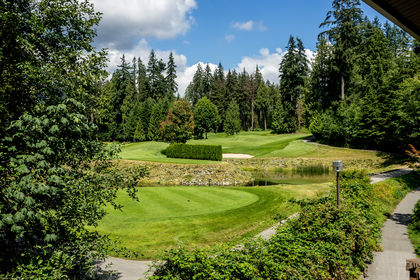 Golf Course View at 302 - 3294 Mt. Seymour Parkway, Northlands, North Vancouver