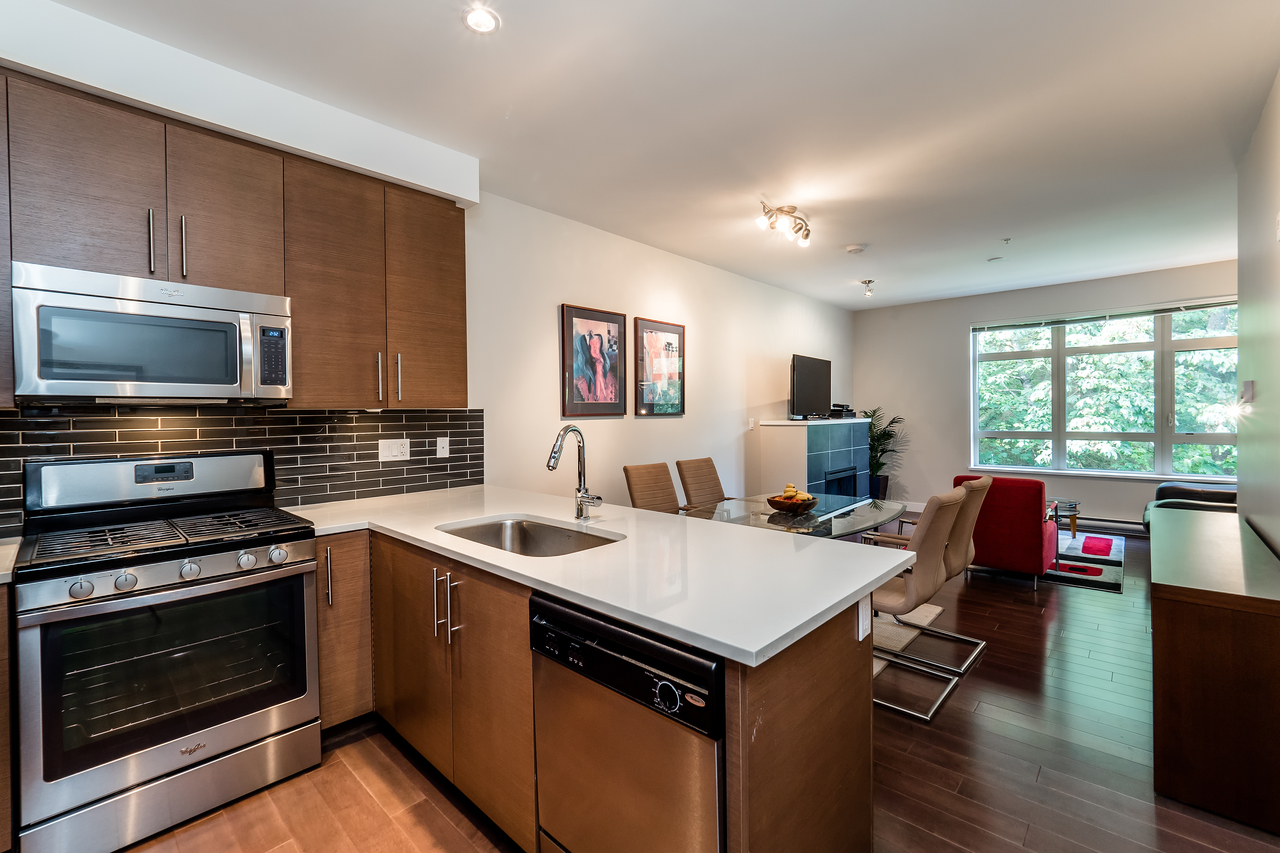 Kitchen at 302 - 3294 Mt. Seymour Parkway, Northlands, North Vancouver