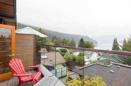 balcony at 2222 Caledonia Avenue, Deep Cove, North Vancouver