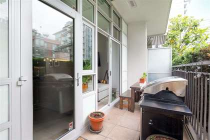 patio-2 at 102 - 63 W 2nd Street, False Creek, Vancouver West