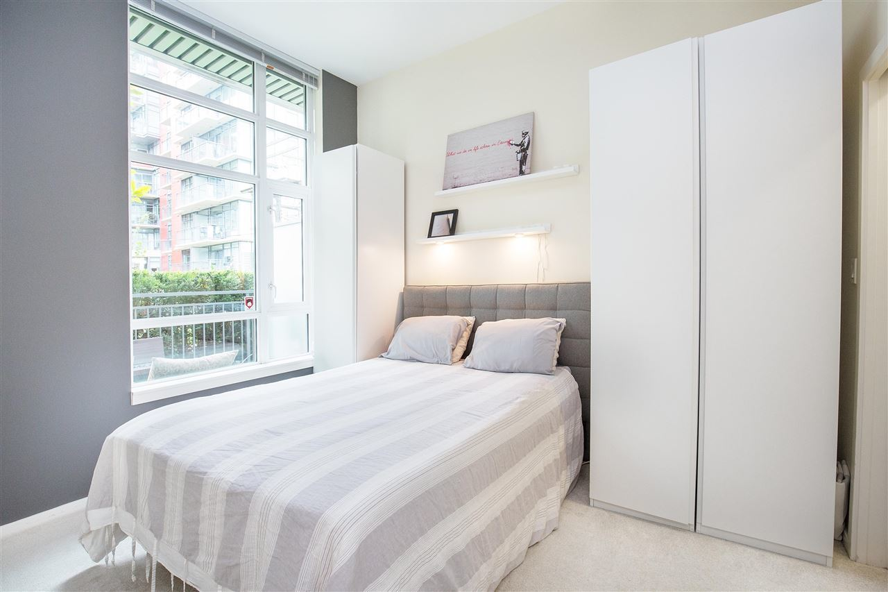 bedroom at 102 - 63 W 2nd Street, False Creek, Vancouver West