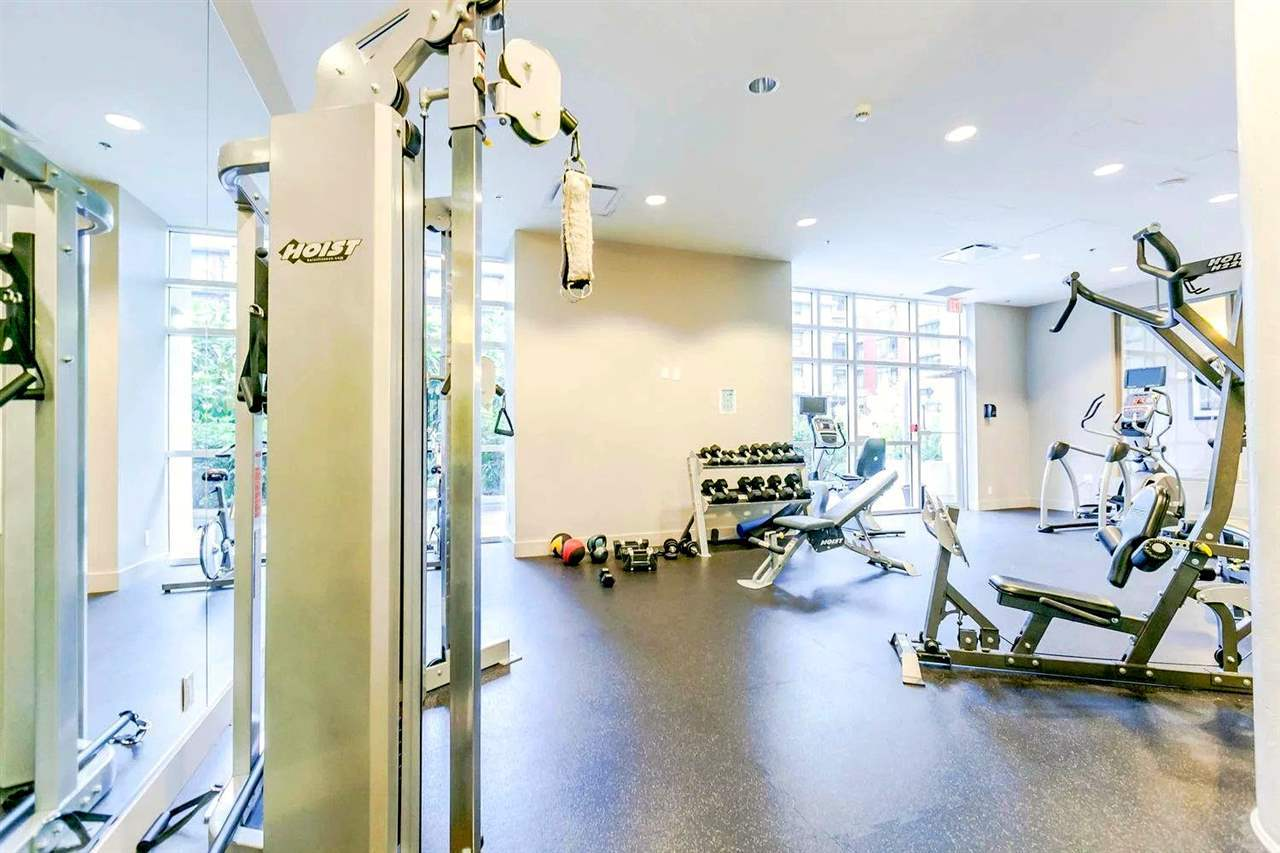 gym at 102 - 63 W 2nd Street, False Creek, Vancouver West