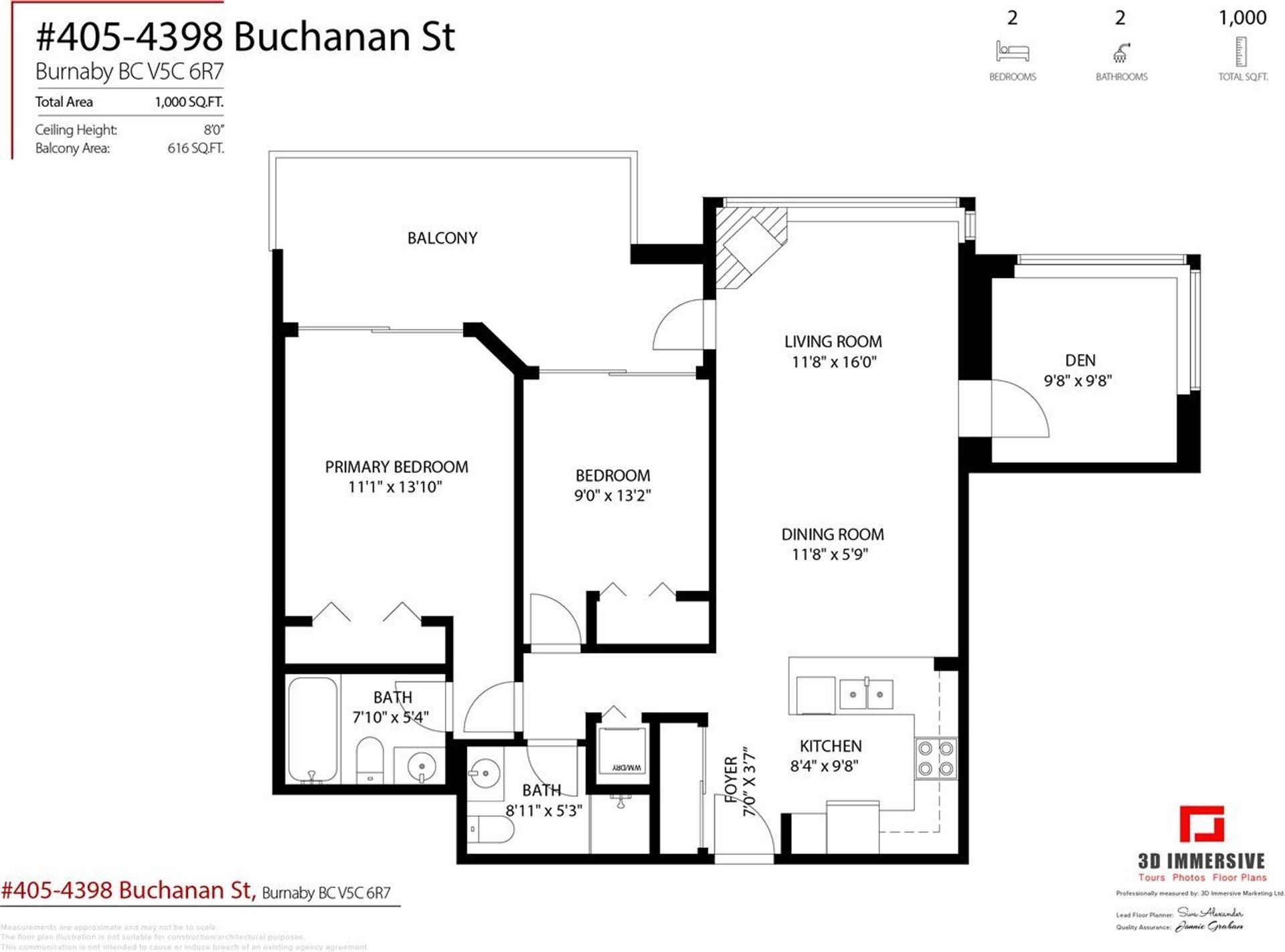 4398-buchanan-street-brentwood-park-burnaby-north-22 at 405 - 4398 Buchanan Street, Brentwood Park, Burnaby North