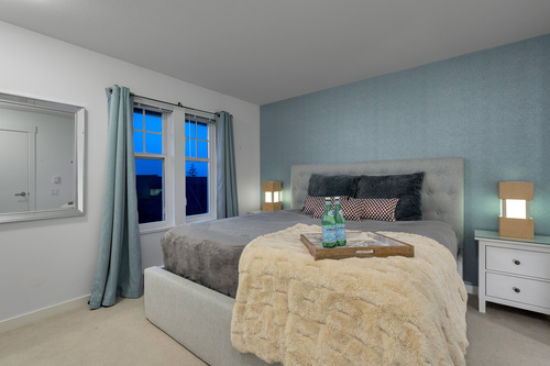 'Large master bedroom' at 61 - 1320 Riley Street, Burke Mountain, Coquitlam