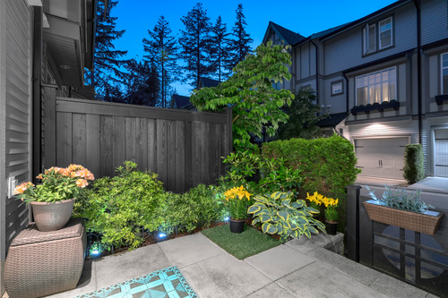 'Private outdoor space' at 61 - 1320 Riley Street, Burke Mountain, Coquitlam