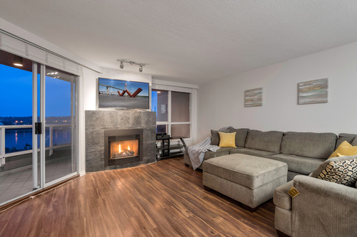 at 1704 - 1235 Quayside Drive, Quay, New Westminster
