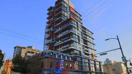 1106 - 1325 Rolston, Downtown VW, Vancouver West